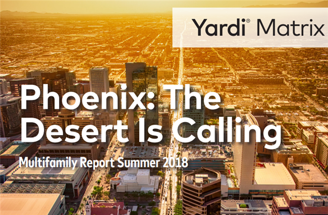 Phoenix multifamily market blooming in the desert