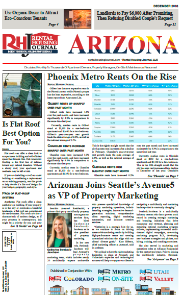 Arizona Rental Housing Journal December 2018