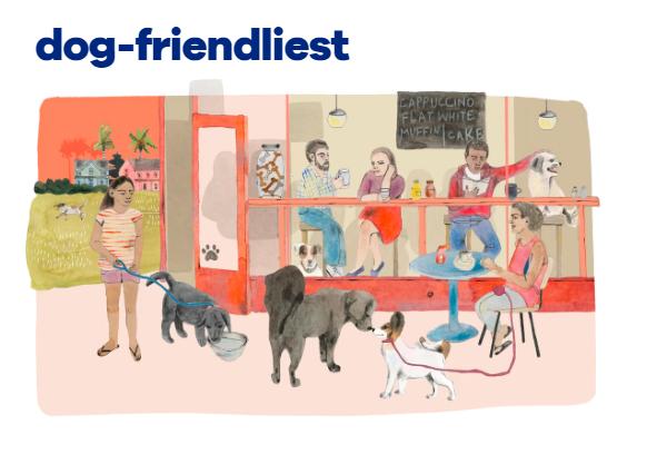 Downtown Portland Wins As Second Most Dog-Friendly Neighborhood In U.S.