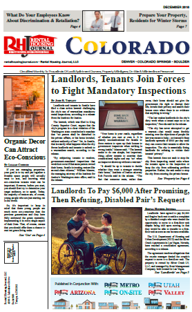 Rental Housing Journal Colorado apartment news and helpful, useful information for multifamily professionals
