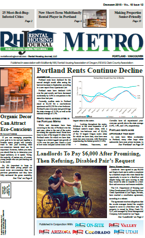 Oregon Metro Portland and Oregon Valley Rental Housing Journal