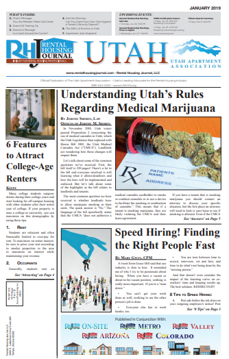 Rental Housing Journal Utah January 2019 Print Edition