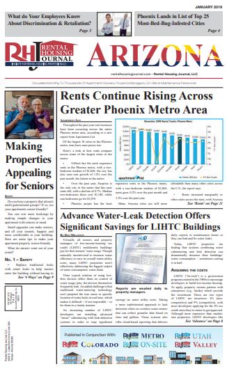 Arizona Rental Housing Journal Print Edition January 2019