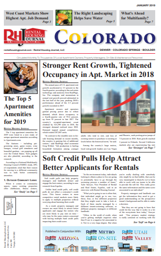 Rental Housing Journal Colorado January 2019 Print Edition