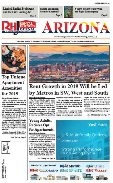 Rental Housing Journal Arizona February 2019
