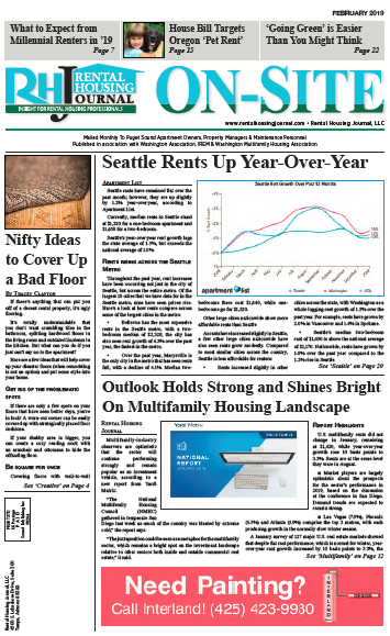 Rental Housing Journal Seattle On-Site Puget Sound Print Edition February 2019
