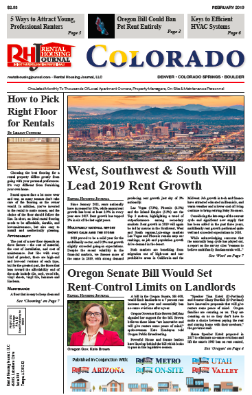Rental Housing Journal Colorado February 2019