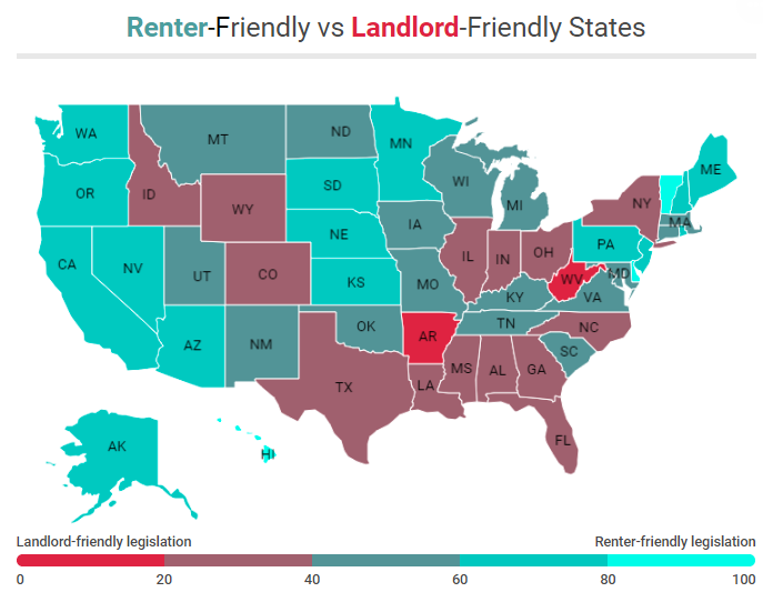 Legislation Changing in Many States to Make Them Less Landlord-Friendly