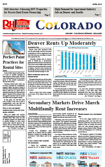 Rental Housing Journal Colorado April 2019