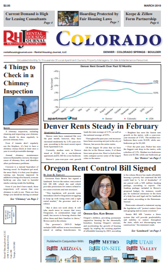 Rental Housing Journal Colorado March 2019