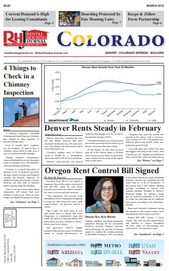 Rental Housing Journal Colorado March 2019