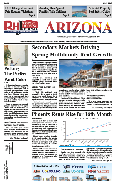 Rental Housing Journal Arizona Print Edition May 2019