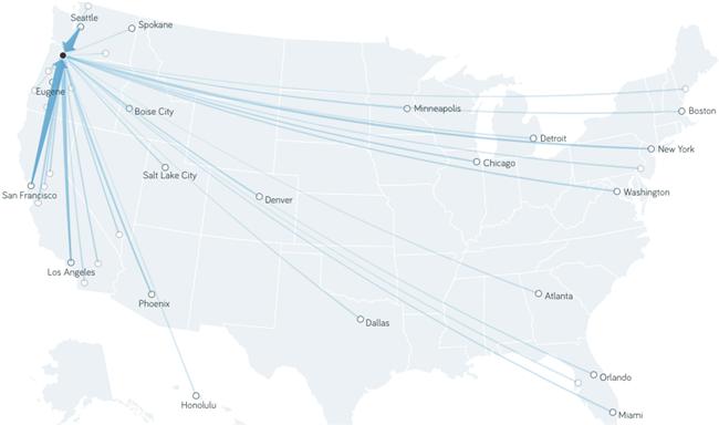 Renter Migration Patterns Show Portland As Affordable Alternative to San Francisco, Seattle