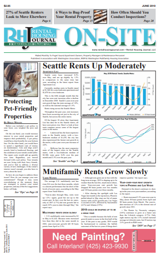 Washington Rental Housing Journal Seattle On-Site Puget Sound Edition June 2019