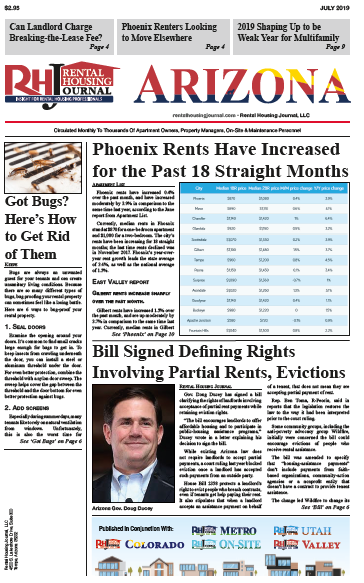 Arizona Rental Housing Journal July 2019 Edition