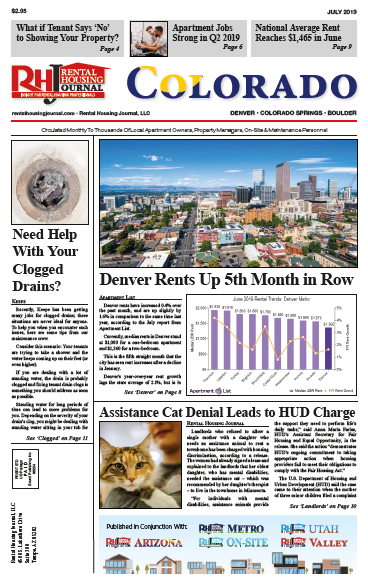 Colorado Rental Housing Journal July 2019