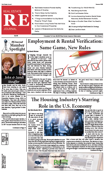 Real Estate Journal Summer 2019 from the National Real Estate Investors Association