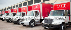 disaster relief Cort Furniture