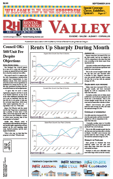 Rental Housing Journal Oregon Valley Edition September 2019