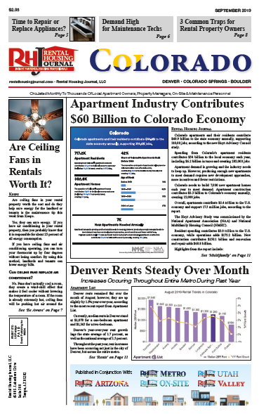 Rental Housing Journal Colorado September 2019