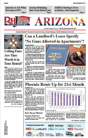Arizona Rental Housing Journal September 2019