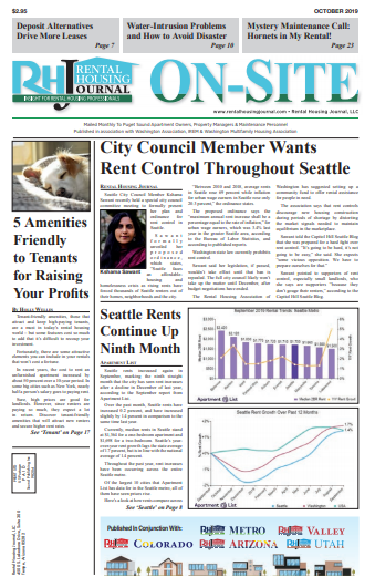Rental Housing Journal Seattle OnSite Puget Sound Edition October 2019