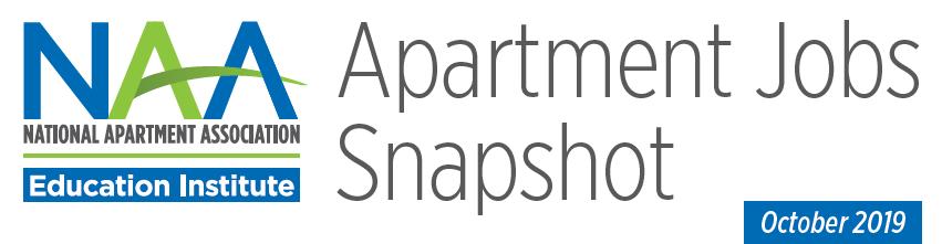 National Apartment Association Jobs Report