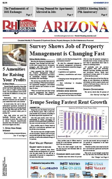 Arizona Rental Housing Journal November 2019