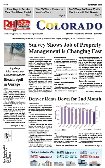 Rental Housing Journal Colorado November 2019