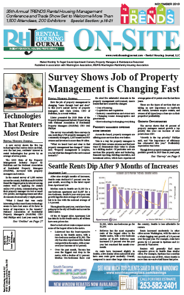 Rental Housing Journal On-Site Seattle Puget Sound Edition November 2019