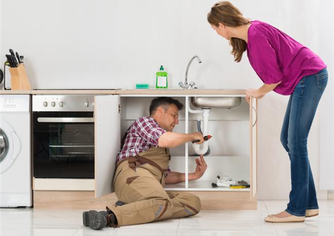 Leaking sinks were the No. 1 maintenance item in November