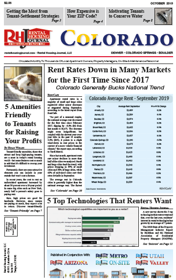 Rental Housing Journal Colorado October 2019