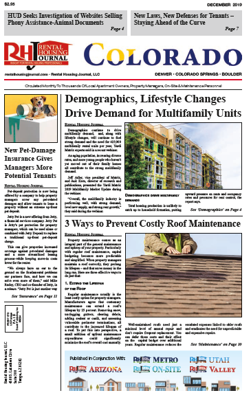 Rental Housing Journal Colorado December 2019