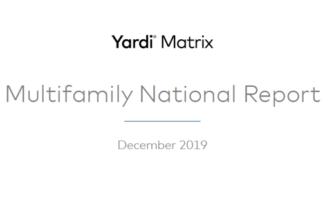 National Average Rent Fell $1 In December