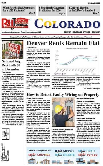 Rental Housing Journal Colorado January 2020