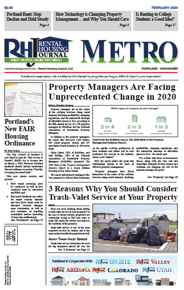 Portland Metro Rental Housing Journal February 2020