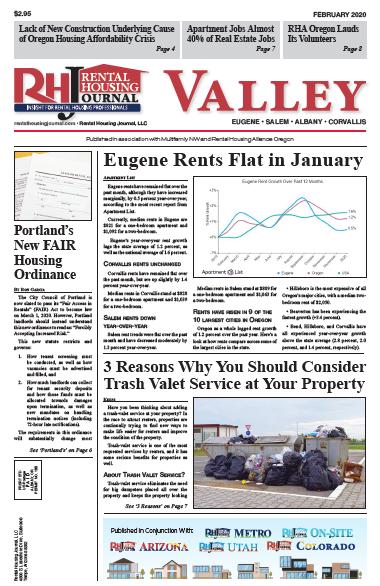 Rental Housing Journal Oregon Valley February 2020