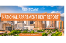 national average apartment rent