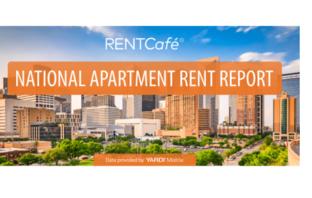national average apartment rent