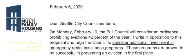 winter evictions ban passed by seattle city council