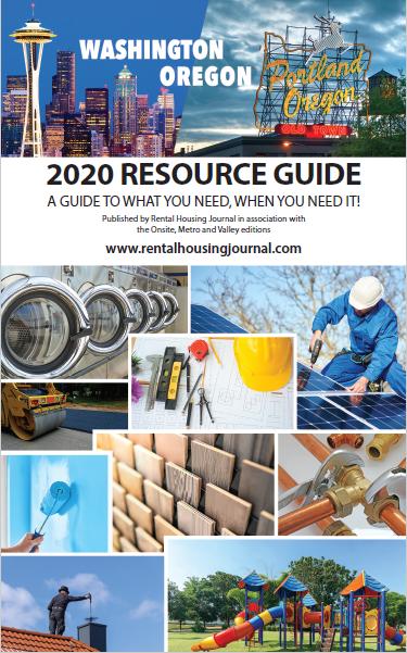 Northwest Resource Guide 2020 Rental Housing Journal