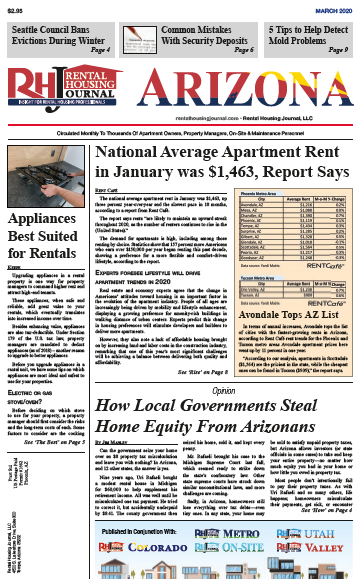 Arizona Rental Housing Journal March 2020