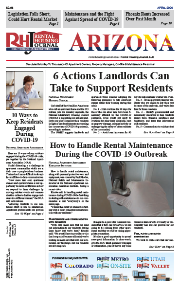 Rental Housing Journal April 2020